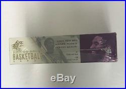 2001-02 Upper Deck SPX Factory Sealed Basketball Hobby Box