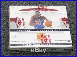 2003-04 Skybox Limited Edition Sealed Basketball Hobby Box Lebron James RC YR