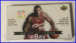 2003-04 Upper Deck Lebron James 32 Card Factory Sealed Box Set Autographed RC