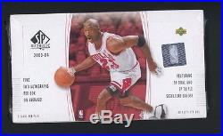 2003-04 Upper Deck SP Authentic Basketball Sealed Hobby Box Lebron James RC Auto