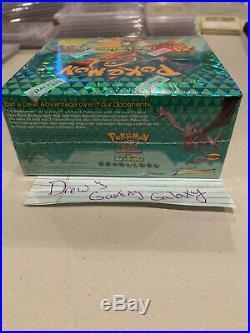 2003 Sealed WOTC Skyridge Pokemon Booster Card Pack Box