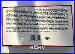 2004-05 Upper Deck Sweet Shot Sealed Hobby Basketball Box Michael Jordan Auto