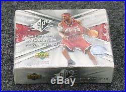 2005-06 Upper Deck SPx Basketball Sealed Hobby Box Michael Jordan Lebron Auto