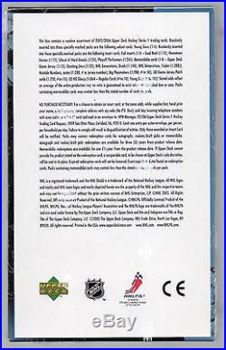 2005-06 Upper Deck Series 1 Hockey hobby box sealed 24 packs, Sidney Crosby RC