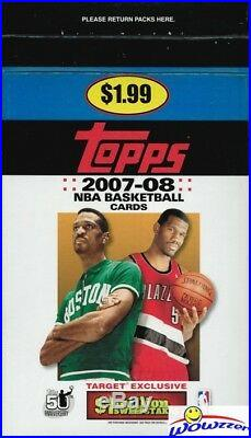 2007/08 Topps Basketball Factory Sealed 48 Pack Gravity Box- Aver 6 Kevin Durant