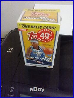2009-10 Topps Basketball Blaster Sealed Box Of 10 Packs 8 Cards Per Pack