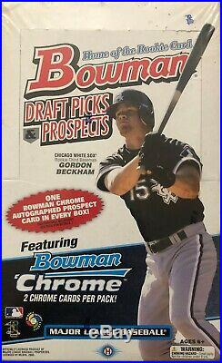 2009 Bowman Draft Factory Sealed Box Trout Rookie