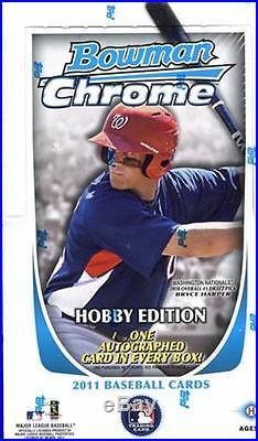 2011 BOWMAN CHROME HOBBY SEALED BASEBALL BOX