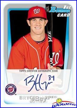 2011 Bowman Baseball HUGE Factory Sealed Blaster Box with 80 Cards! Rare