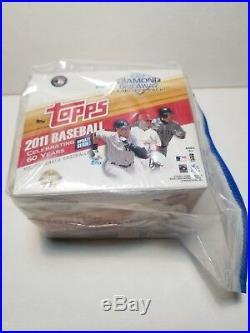 2011 TOPPS UPDATE JUMBO FACTORY SEALED BOX(Trout/Altuve/Goldschmidt/JD Martinez)