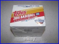 2011 Topps Baseball Update Jumbo Sealed Hobby Box (SEE DESCRIPTION)