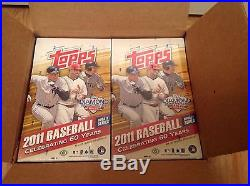 2011 Topps Update Hobby Box Sealed- Trout RC