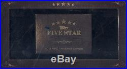 2012 Topps FIVE STAR 5 Star Football Factory Sealed Football Card Box
