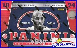 2013/14 Panini Basketball Sealed HOBBY Box-2 AUTOGRAPHS! Antetokounmpo RC Year