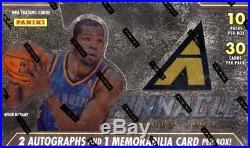 2013/14 Panini Pinnacle Basketball Jumbo Factory Sealed Hobby Box Giannis Rookie