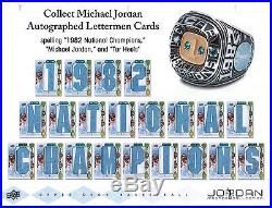 2013 Upper Deck Michael Jordan Master Collection Hobby Box Factory Sealed /250