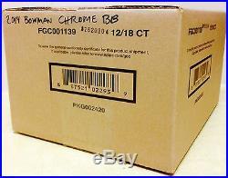 2014 BOWMAN CHROME BASEBALL HOBBY FACTORY SEALED 12 BOX CASE KRIS BRYANT