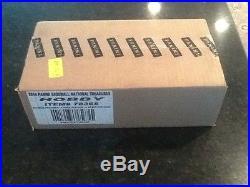 2014 Panini National Treasures Baseball Cards Factory Sealed 4 Box Case