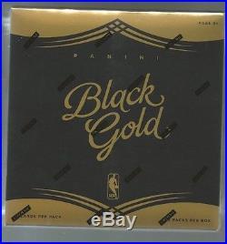2015/16 Panini Black Gold Basketball Factory Sealed Hobby Box