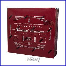 2015-16 Panini National Treasures Basketball Factory Sealed Box