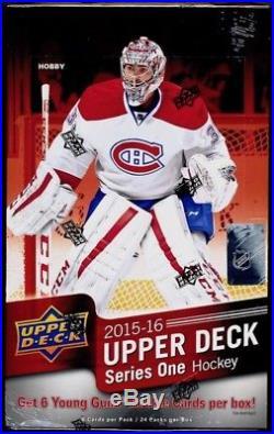 2015-16 UPPER DECK Series 1 Hockey Hobby Factory Sealed Box Connor McDavid
