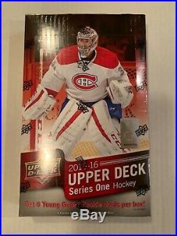 2015/16 Upper Deck Series 1 Hockey Box Case fresh FACTORY SEALED! McDavid RC