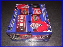 2015-16 Upper Deck Series 1 NHL Sealed Retail Box McDavid Rantanen NO GST