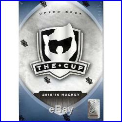 2015-16 Upper Deck The Cup Hockey Factory Sealed Hobby Box