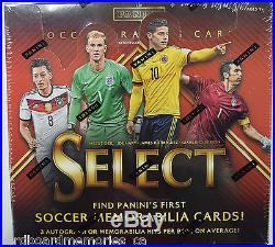2015 Panini Select Factory Sealed Soccer Hobby Box
