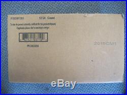 2015 Topps Allen & Ginter Baseball Factory Sealed 12 Box Hobby Case