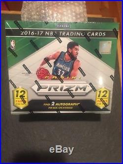 2016-17 Panini Prizm Basketball Sealed Hobby Jumbo Hta Box! Simmons RC 2 Autos