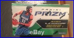 2016-17 Panini Prizm Basketball Sealed Jumbo HTA box Ben Simmons RC 2 Autos