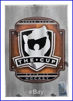 2016-17 UD Upper Deck The Cup 6-Box Hobby SEALED CASE MATTHEWS LAINE NYLANDER