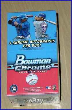2016 Bowman Chrome baseball sealed vending box Tatis Vlad Guerrero Juan Soto