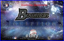 2016 Bowman Inception Baseball Factory Sealed Hobby 8 Box Case
