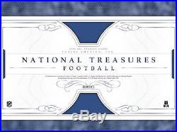 2016 Panini National Treasures NFL Football Sealed 4 Box Case Pre Sale