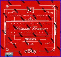 2016 Panini National Treasures Racing Hobby Box Factory Sealed & Free Ship