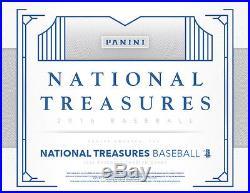 2016 Panini National Treasures Baseball Factory Sealed Hobby Box
