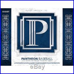 2016 Panini Pantheon Baseball Hobby Box Inner Case (4 Boxes) Factory Sealed