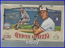 2016 TOPPS GYPSY QUEEN Baseball Hobby Box FACTORY SEALED