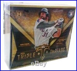 2016 Topps Triple Threads Baseball Hobby Factory Sealed Box