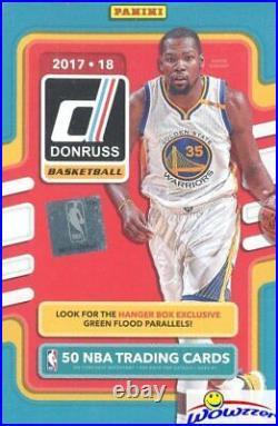 2017/18 Panini Donruss Basketball EXCLUSIVE HUGE Sealed Hanger Box-50 Cards