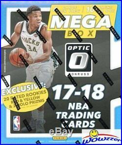 2017/18 Panini Donruss OPTIC Basketball EXCLUSIVE Sealed 20 Box MEGA CASE-HOT