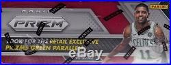 2017-18 Panini Prizm Basketball sealed retail box 24 packs 4 NBA cards 1 auto