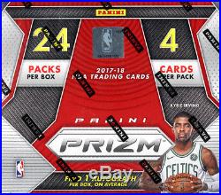 2017-18 Panini Prizm NBA Basketball SEALED 24-Pack RETAIL BOX (1 Auto on avg)