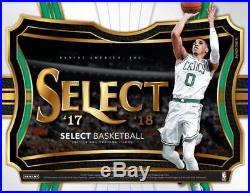2017-18 Panini Select Basketball Hobby Box Factory Sealed 3 Hits Per Box