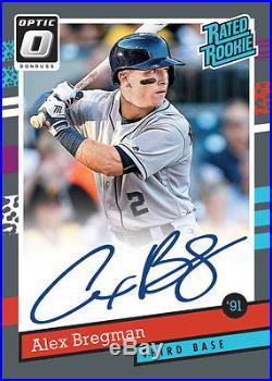2017 Donruss Optic Baseball FACTORY SEALED 12-BOX FULL CASE FREE SHIPPING