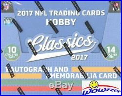 2017 Panini Classics Football Factory Sealed HOBBY Box-2 AUTO/MEM- Mahomes RC Yr