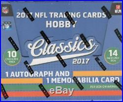 2017 Panini Classics Football Hobby Box Factory Sealed! RookiesHQ