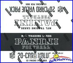 2017 Panini Football EXCLUSIVE MASSIVE Factory Sealed JUMBO FAT Box-240 Cards